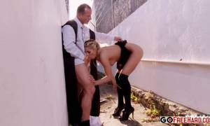 Back Alley Blowjob