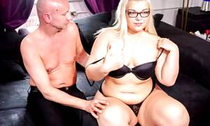 LETSDOEIT – Chubby German Teen Gets Filmed Fucking Her BF