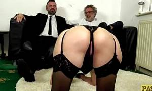 PASCALSSUBSLUTS – Leanne Morehead ass slammed before facial