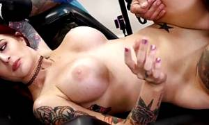 Tana Lea Tattoo Fuck Session