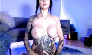 Tattoo big tits women