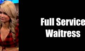 Waitress Interviewed On ABC News Demos Full Service Hospitality GDP 181 And 193